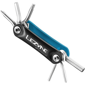 Lezyne RAP-6 Multitool, blue/black